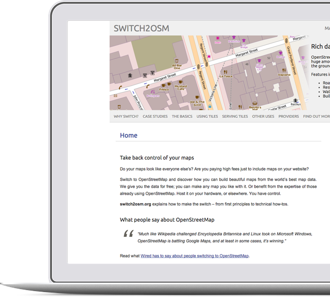 OSM Pro Services – Open Street Map Services by AND